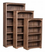 Shaker Bookcase  -  Cat No: 503-PLW0292-88-O  -  Click To Order  -  ID: 9443
