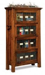 Artesa Barrister Bookcase  -  Cat No: 503-FVBR4DRA-107  -  Click To Order  -  ID: 9689
