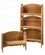 Stacking Bookshelf Bench  -  Cat No: 220-20-16-69  -  Click To Order  -  ID: 873