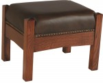 Mission Footstool  -  Cat No: 276-MF210-44  -  Click To Order  -  ID: 5510