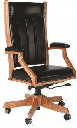 Mission Desk Chair  -  Cat No: 203-MDC255-44  -  Click To Order  -  ID: 5506