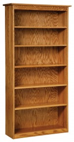 Economy Bookcase  -  Cat No: 455-LAEC-126  -  Click To Order  -  ID: 8937