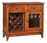 Canterbury Wine Cabinet  -  Cat No: 403-512-22  -  Click To Order  -  ID: 9930