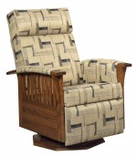Mission Swivel Glider Recliner  -  Cat No: 275-83-1-69  -  Click To Order  -  ID: 9845