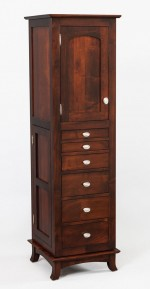 Revolving Shaker Jewelry Armoire  -  Cat No: 606-100-47  -  Click To Order  -  ID: 9944