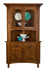 Breckenridge Corner Hutch  -  Cat No: 401-BRECKCH-83  -  Click To Order  -  ID: 9497
