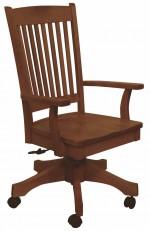 Franklin Desk Chair  -  Cat No: 203-75DA-27  -  Click To Order  -  ID: 957