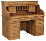 Traditional Deluxe Rolltop Desk  -  Cat No: 451-TDR2858-73  -  Click To Order  -  ID: 10000