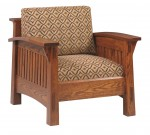 Country Mission Chair  -  Cat No: 228-4575C-85  -  Click To Order  -  ID: 5064