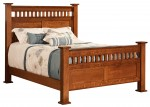 Lynbrook Bed  -  Cat No: 550-LYQ-141  -  Click To Order  -  ID: 9786