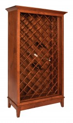 Canterbury Wine Bottle Cabinet  -  Cat No: 403-510-22  -  Click To Order  -  ID: 9929