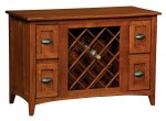 Monroe Wine Cabinet  -  Cat No: 323-MONWCL-114  -  Click To Order  -  ID: 9879
