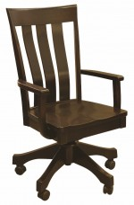 Curlew Desk Chair  -  Cat No: 203-520DS-27  -  Click To Order  -  ID: 5431