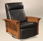 Hoosier Swivel Glider Recliner  -  Cat No: 225-670HGRS-117  -  Click To Order  -  ID: 9618