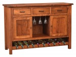 Adele Sliding Door Wine Cabinet  -  Cat No: 403-356-22  -  Click To Order  -  ID: 9927