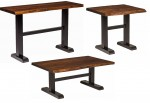 Trestle Base Occasional Tables  -  Cat No: 300-52000301ST-96  -  Click To Order  -  ID: 8212