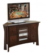 Westfield Corner Plasma TV Stand  -  Cat No: 504-32900DR-48  -  Click To Order  -  ID: 9148