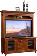 Bridgeport TV Stand w/Hutch  -  Cat No: 504-BRID95430-63  -  Click To Order  -  ID: 9107