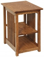 Mission McCarty End Table  -  Cat No: 301-M100220-103-O  -  Click To Order  -  ID: 7942