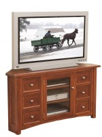 Garnet Hill Corner Plasma TV Stand  -  Cat No: 504-489016DDR-48  -  Click To Order  -  ID: 9140