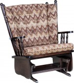 4 Post Highback Chair & A Half Glider  -  Cat No: 275-062F-118  -  Click To Order  -  ID: 9608