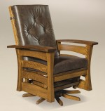 Barrington Swivel Glider  -  Cat No: 275-407BNGSF-117  -  Click To Order  -  ID: 8036