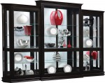 Deluxe Sliding Door Curio 3-pc Set  -  Cat No: 418-GO-2082-9  -  Click To Order  -  ID: 7185