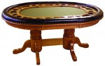 Dakota Game Table  -  Cat No: 313-2010-136  -  Click To Order  -  ID: 9866