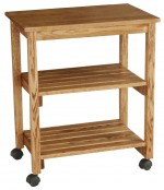 Microwave Serving Cart  -  Cat No: 390-M090328-103-O  -  Click To Order  -  ID: 7858