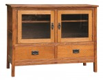 Country Mission TV Stand  -  Cat No: 565-CWF365-11  -  Click To Order  -  ID: 8763