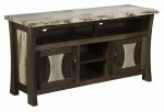 Legacy Live Edge TV Stand  -  Cat No: 504-SC60LEG-116  -  Click To Order  -  ID: 10062