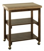 Microwave Serving Butcher Block Cart   -  Cat No: 390-M090338-103-O  -  Click To Order  -  ID: 7859