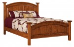 Homestead Bed  -  Cat No: 550-HOQ-141  -  Click To Order  -  ID: 9785