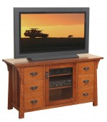 Cantebury TV Stand  -  Cat No: 504-36-601DDDDR-48  -  Click To Order  -  ID: 7730