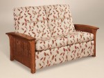 Skyline Slat Reclining Loveseat  -  Cat No: 227-601SSLRF-117  -  Click To Order  -  ID: 3338