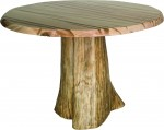 Round Dining Stump Table  -  Cat No: 100-10100-1002DST-96  -  Click To Order  -  ID: 9070