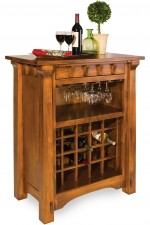 Manitoba Wine Cabinet  -  Cat No: 417-MANWC-125  -  Click To Order  -  ID: 9547