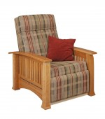 Modern Mission Recliner  -  Cat No: 275-87-1-69  -  Click To Order  -  ID: 7652