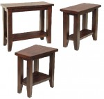 Plank Top Occasional Tables  -  Cat No: 300-H010955-103-O  -  Click To Order  -  ID: 7963