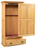 Wood Sliding Door Gun Cabinet  -  Cat No: 452-GO-5006-9  -  Click To Order  -  ID: 4314