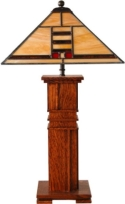 Mission Table Lamp  -  Cat No: 650-118-225-106  -  Click To Order  -  ID: 8076
