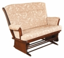 Sleigh Loveseat Glider  -  Cat No: 275-811-23  -  Click To Order  -  ID: 8500