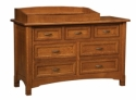 West Lake 6 Drawer Dresser  -  Cat No: 575-706-26-O  -  Click To Order  -  ID: 8261