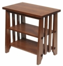 Stick Mission End Table  -  Cat No: 301-E141400-103-O  -  Click To Order  -  ID: 7944