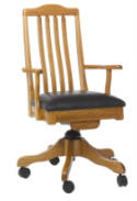 Shaker Office Chair  -  Cat No: 203-4085STB-72  -  Click To Order  -  ID: 6257