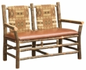 Hickory Settee  -  Cat No: H227-315-135-O  -  Click To Order  -  ID: 8574