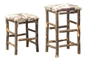 Hickory Barstool  -  Cat No: H210-292-135-O  -  Click To Order  -  ID: 8566