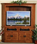Corner HDTV Entertainment Center  -  Cat No: 525-367chdtv-41  -  Click To Order  -  ID: 3282
