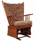 Four Post Glider Rocker  -  Cat No: 275-1954PG-23  -  Click To Order  -  ID: 285