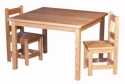 Child's Table & Chairs  -  Cat No: 110-C080932-C080906-103-O  -  Click To Order  -  ID: 7827